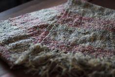 ウールリネン手織りストール Little Lithuania (リトル リトアニア)