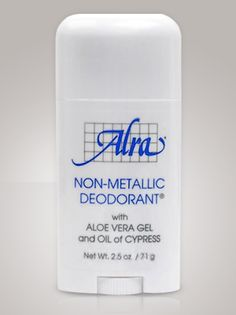 Natural Odor and Wetness Protection Alra Non-Metallic Deodorant Acceptable