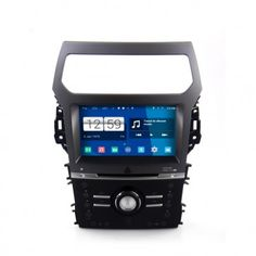 Autoradio Android Ford Exporler 2013 Poste DVD GPS Android 4.4.4 USB Bluetooth écran tactile Mirrorlink AirPlay 4G IPOD Iphone TV
