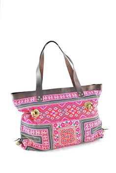 Great Ibiza Bohemian style bags ..Hand embroidered with genuine leather straps.. Many sizes and colors available at www.maisonirem.com
