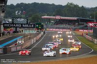 Le Mans Classic ~ 500 cars racing and 8,000 on display ~ a real festival of mechanical symphony ~ Grid 6 - start race 3 -