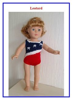 DK Ravelry: Leotard for American Girl and Gotz Dolls pattern by UNA HENDRY