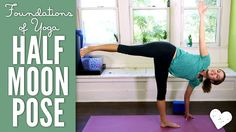 Learn Half Moon Pose. This yoga pose stretches and strengthens the whole body and can help improve balance and coordination.