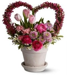 301 Best Valentine S Floral Arrangements Images On Pinterest