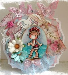 Magnolia Stamps Tilda on the Beach from New Sea Breeze Collection