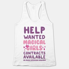 Help Wanted Magical Girls Contracts Available No Prior Experience Requires