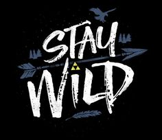 """""""Stay Wild"""" by Biggers is available on #TeeFury! Use coupon code FURY30 for 30% off!"""