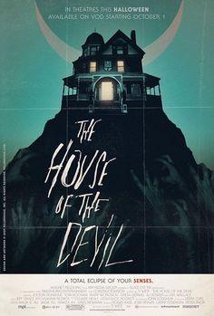 悪魔の映画のポスターの家