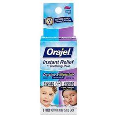 """""""Orajel Dia e Noite'' Anestésico para o nascimento dos dentinhos de bebê Embalagem dupla. Contem dois tubos de 5.1g cada. 1 para uso diurno e outro extra forte para uso noturno. Indicado para crianças acima de 2 anos de idade. Nova! - Pronta entrega! R$6000 Para comprar Whatsapp (19)99670-0210 direct ou acesse http://ift.tt/2aoJsL9 http://ift.tt/2dzyMwK Nossos produtos podem ser retirados em Indaiatuba/SP. Pagamentos podem ser efetuados por depósito no Itaú cartão de crédito ou débito…"""