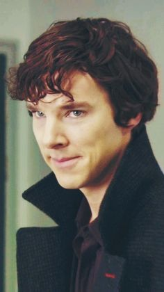 @Sara Trivelpiece Imagine me giving you this look right now. I can't, so here's Sherlock to do it for me. I love you.