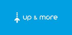 Up&More logo