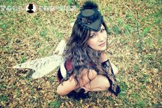 French Hat print from the Steampunk Fairy shoot by Fogg Couture and League of Fogg