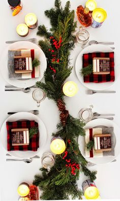 Made By Girl: DESIGN: Holiday Table Inspiration