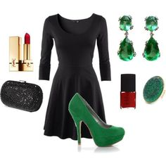 Holiday party outfit by reva