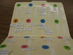 Students' reading levels at a glance ~ great teaching tool to help organize guided reading instruction!