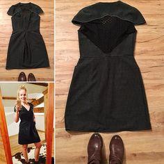 Patron de couture gratuit et concours: robe Imagine par Louis Antoinette! Robe sexy & dos en dentelle. Tuto Facile d'une robe femme !