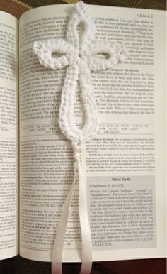 I made this crochet cross in about 10 minutes thanks to the great tutorial by Crochet Geek