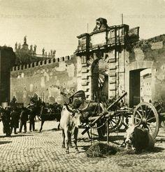 Foto storiche di Roma - Porta San Giovanni