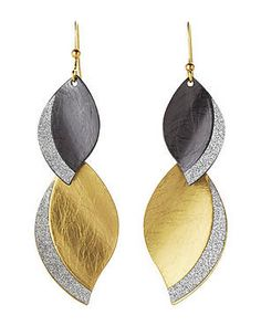 Glitterati-approved. #allthatglitters #dropearrings #mixedmetals #century21stores