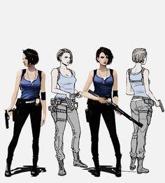 Horror Video Games, Mileena, Jill Valentine, Video Game Art, Halloween Cosplay, Best Games, New Art, Cool Art, Superhero