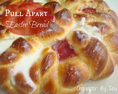 This Pull Apart Easter Bread is so light and fluffy, yet packed with tons of flavor!