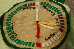 A Circle of the Church Year - from Godly Play, but an interesting way of creating the liturgical calendar.