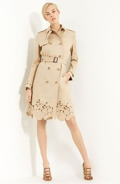 The detailing at the bottom makes this trench special