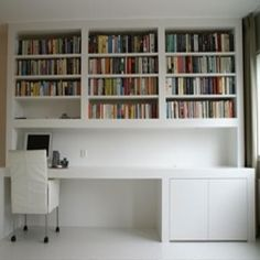 Very interesting....desk, counter space. But lose out on covered cabinets.