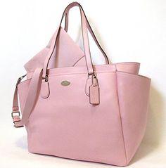 Coach Crossgrain Signature Leather Large Pink Baby Diaper Bag Tote Shoulder Bag 35702  http://www.alltravelbag.com/coach-crossgrain-signature-leather-large-pink-baby-diaper-bag-tote-shoulder-bag-35702/