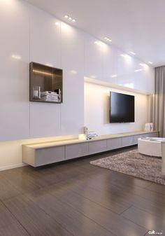 Hidden cabinets - Spacious minimalism by Cult of Design 04 - MyHouseIdea