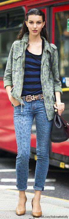 Street Style   Ruby Aldridge - more → http://sylviafashionstylinglife.blogspot.com/2012/06/street-style-ruby-aldridge.html