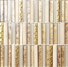 Luxury Hotel Gold Multicolor Decorative Mosaic Tile 12in*12in