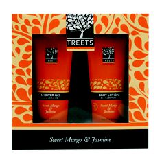 Treets giftset Nice in combination with a massage voucher Wellness Touch