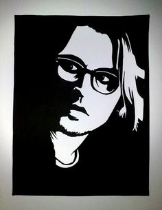johnny depp pop art..