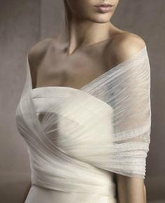 san patrick bridal shawl