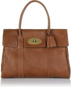9b385031129 mulberry bayswater i want this bag! Brown Leather Handbags, Leather Bag, Brown  Purses