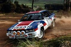 Nissan 240RS Rally Car | WRC Rally School @ http://www.globalracingschools.com