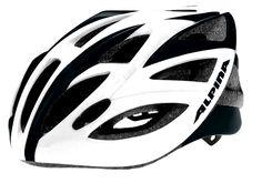 UNIKAT! Kask szosowy Alpina Vector WHITE/BLACK 53-57 cm