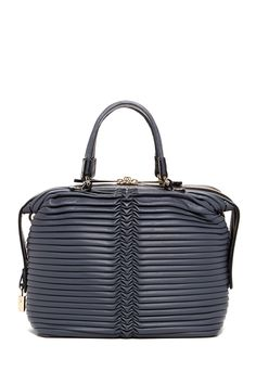 Emporio Armani Pleated Convertible Shoulder Bag by Armani on @HauteLook