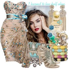 """""""Jar of Hearts"""" created by #colette, #polyvore #fashion #style #Gucci #Sequin Janis Savitt Sandra Dini #Dannijo Jayce Wong Vivienne Westwood #Murad"""