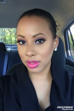 Look of the week: Featuring NYX Soft Matte Lip Cream Addis Ababa   Clinique Long Last Glosswear 'Woo Me'