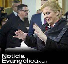 Nueva presidenta de Croacia es una mujer de fe