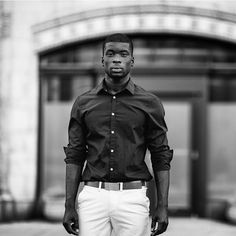 The Gaoussou #fashion #editorial #photo #series #malemodel #nymodels #lamodels #miamimodels #instagood #summer #styles #blackandwhite #bw #ektar100 #Canon #Ivorian #model