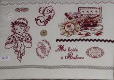 Brocante couture & broderie