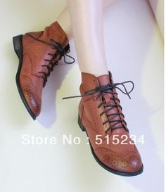 moda botas estilo preppyinferior oxford sapatos único esculpido lacing botas botas flat