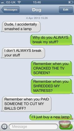 ROFL, this is funny Texts from dog