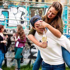 Citylife!  #almdudler #lassunsdudeln #huckepack #goodtimes #funtimes #friends #igersvienna
