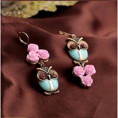 OWL WOMEN EARRING DESIGN  RP 86.000 Size : 7 x 2,2 cm FOR ORDERING WA OR TEXT 087875164760