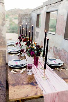 I feel You In My Bones | A Dark & Moody Wedding Editorial