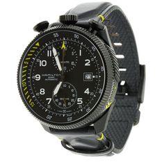 HAMILTON H76786733 TAKEOFF LIMITED EDITION Pilot Watch All Black